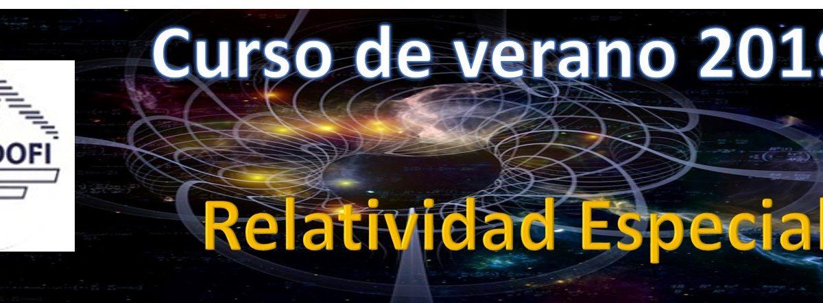 Curso verano: Relatividad Especial