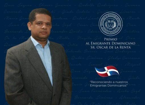 Juan Manuel López nominado al premio al emigrante dominicano
