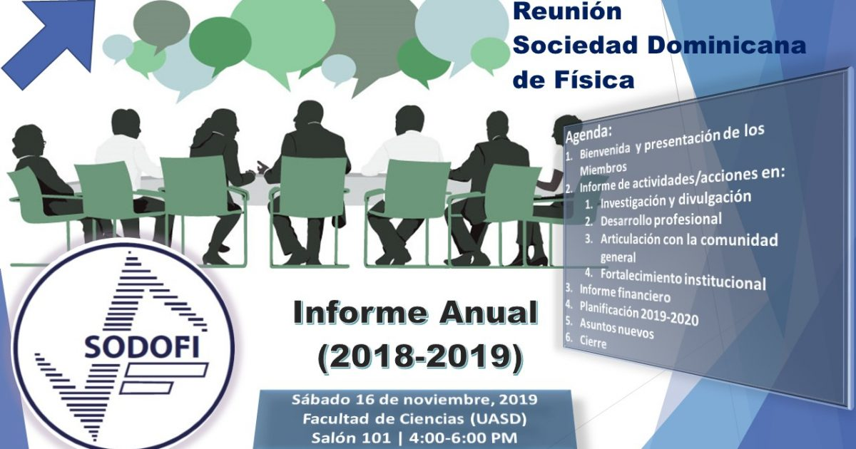Reunión SODOFI: informe anual 2018-2019