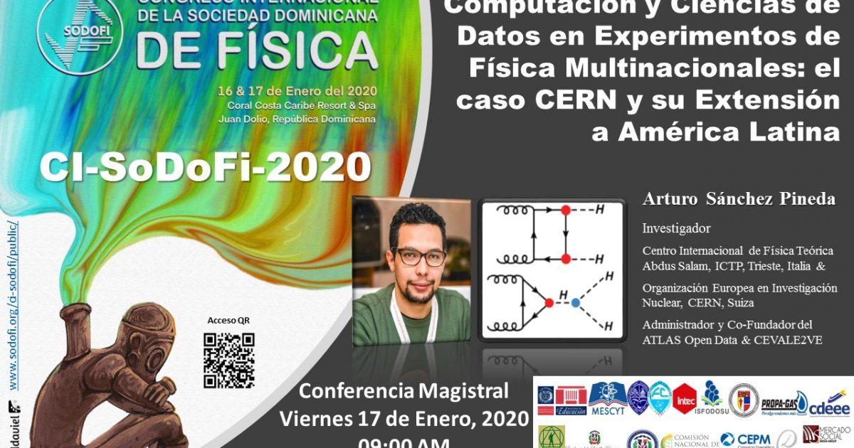 Conferencia: Computación y ciencias de datos en experimentos de Física Multidimensionales