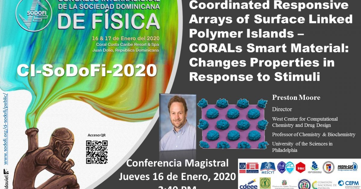 Coordinated Responsive Arrays of Surface Linked Polymer Islands